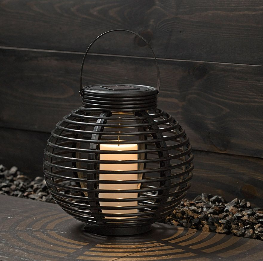 John Lewis Cabot Lattice Solar Lantern