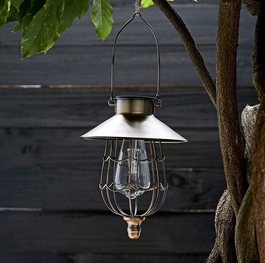 Outdoor lighting tips john lewis solar led hanging lantern mozeypictures Image collections